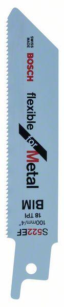 Пильное полотно S 522 EF Bosch Flexible for Metal (2608656012)