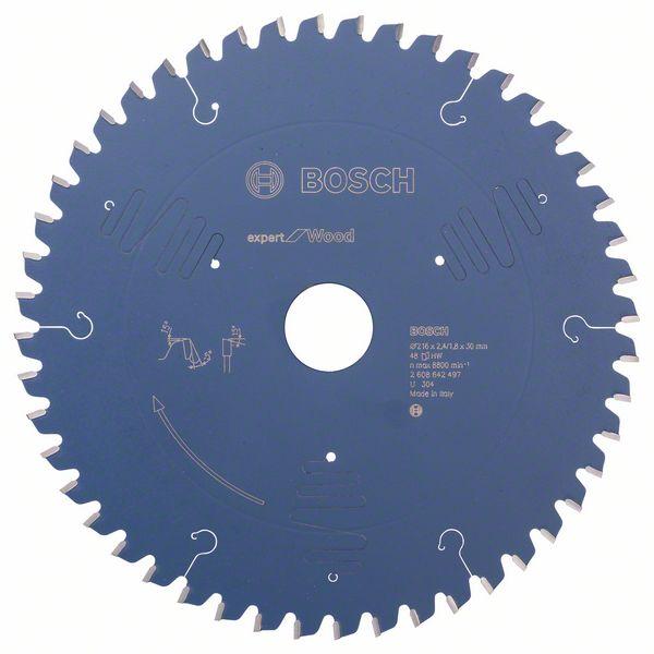 Пильный диск Expert for Wood Bosch 216 x 30 x 2,4 mm, 48 (2608642497)
