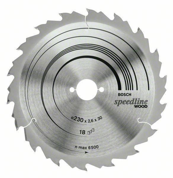 Пильный диск Speedline Wood Bosch 160 x 20 x 2,4 mm, 12 (2608640786)