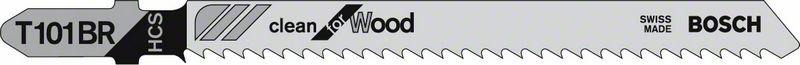 Пильное полотно T 101 BR Bosch Clean for Wood (2608630014)