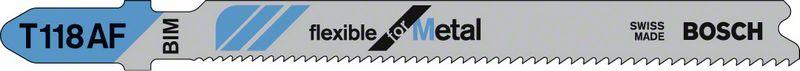 Пильное полотно T 118 AF Bosch Flexible for Metal (2608634991)