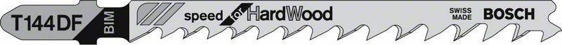 Пильное полотно T 144 DF Bosch Speed for Hard Wood (2608634567)