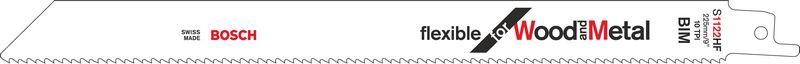 Пильное полотно S 1122 HF Bosch Flexible for Wood and Metal (2608656021)