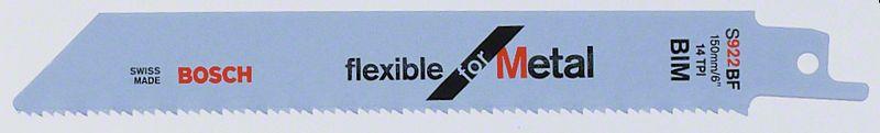 Пильное полотно S 922 BF Bosch Flexible for Metal (2608656037)